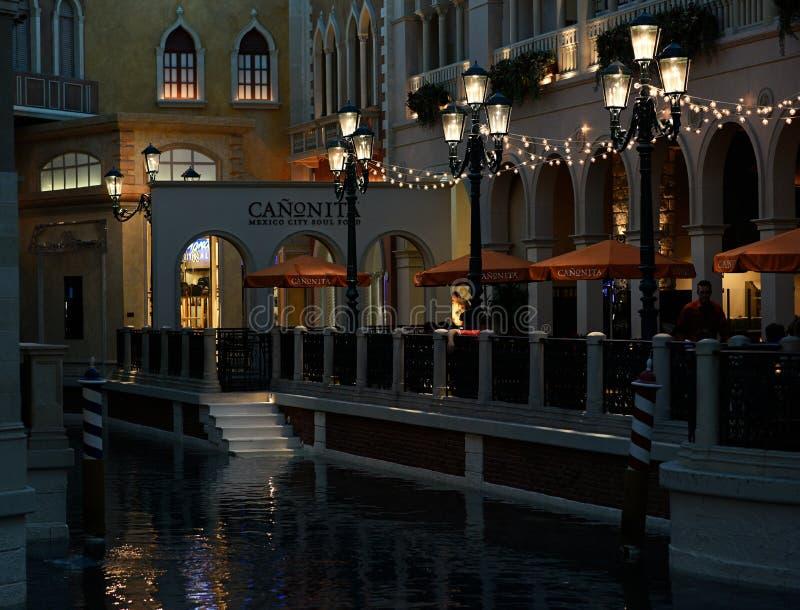 Venetianische Las Vegas stockbilder