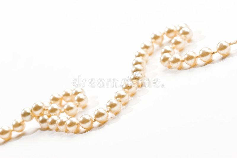 Venetianische Perle stockbild
