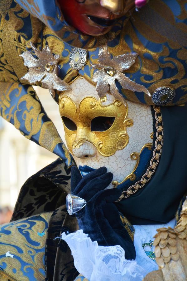 Venetianische Schablone Venedig, Italien, Europa stockfotos