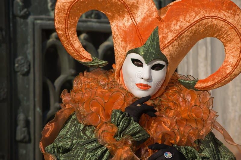 Venetianischer Clown stockfotografie