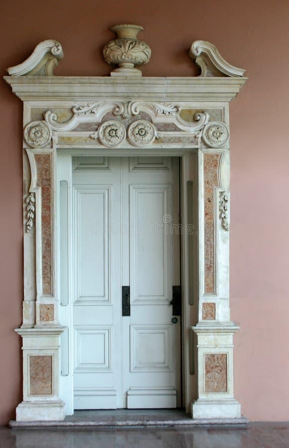 Venetianischer Eingang stockfoto