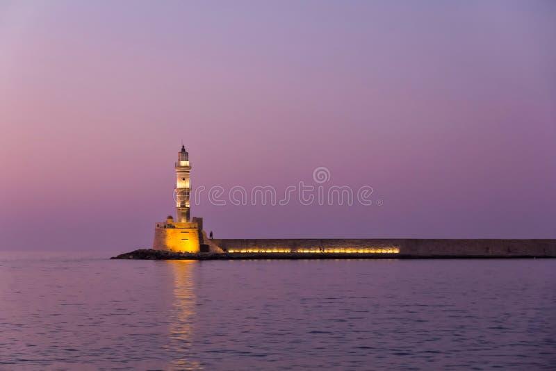 Venetianischer Leuchtturm stockfotografie