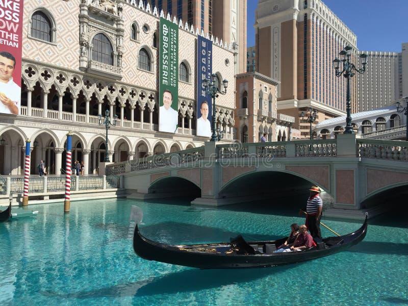 Venetianisches Erholungsort-u. Kasino-Hotel stockfotos