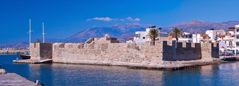 Venetianisches Fort in Ierapetra stockbilder