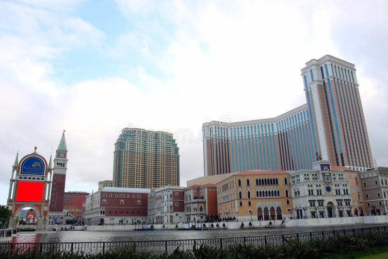 Venetianisches Hotel stockfoto