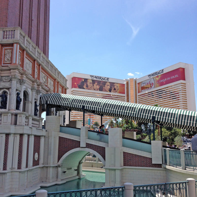 Venetianisches Hotel in Las Vegas lizenzfreie stockbilder