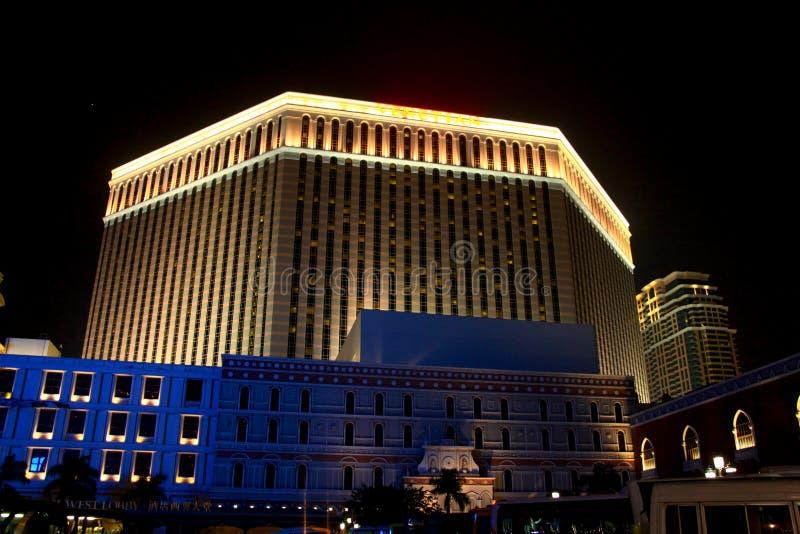 Venetianisches Hotel Macao lizenzfreie stockfotografie
