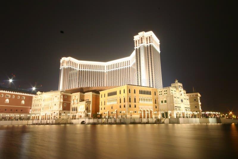 Venetianisches Hotel Macau stockbilder