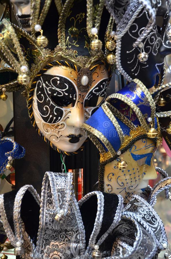 Venetianisches Masken 🎠lizenzfreies stockbild
