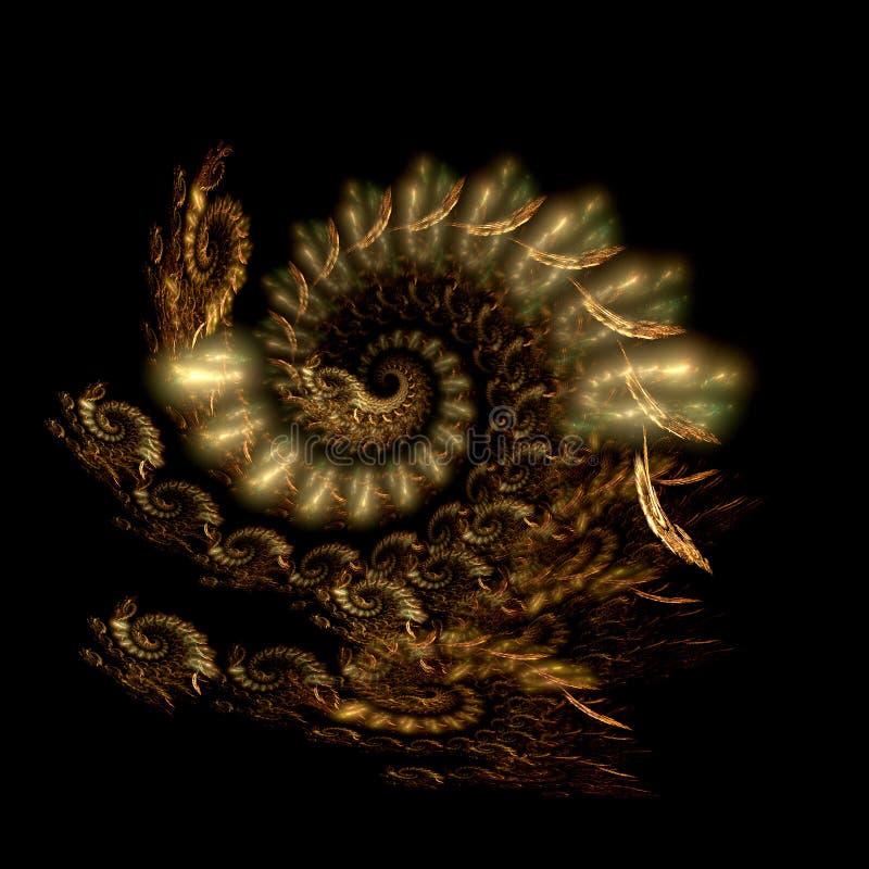 Venez le dragon illustration de vecteur