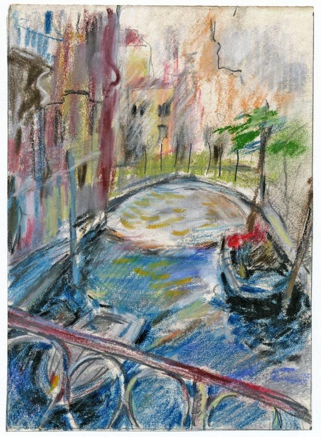 Veneza 1 ilustração do vetor