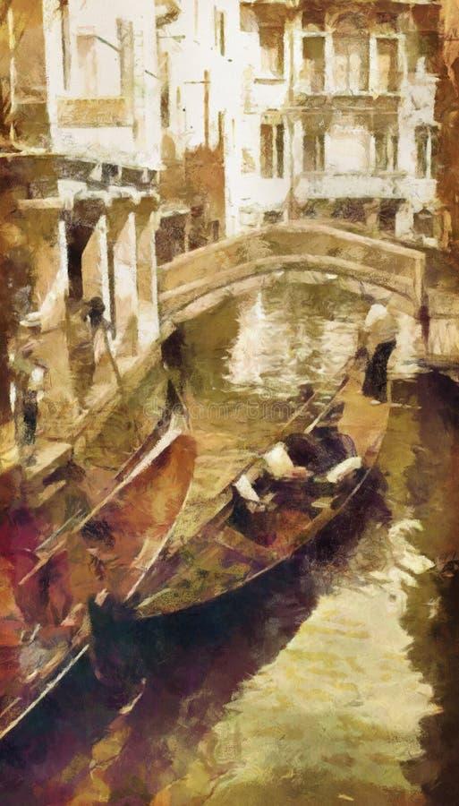 Veneza ilustração royalty free