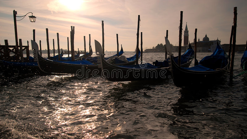 Veneza - gôndola imagens de stock royalty free