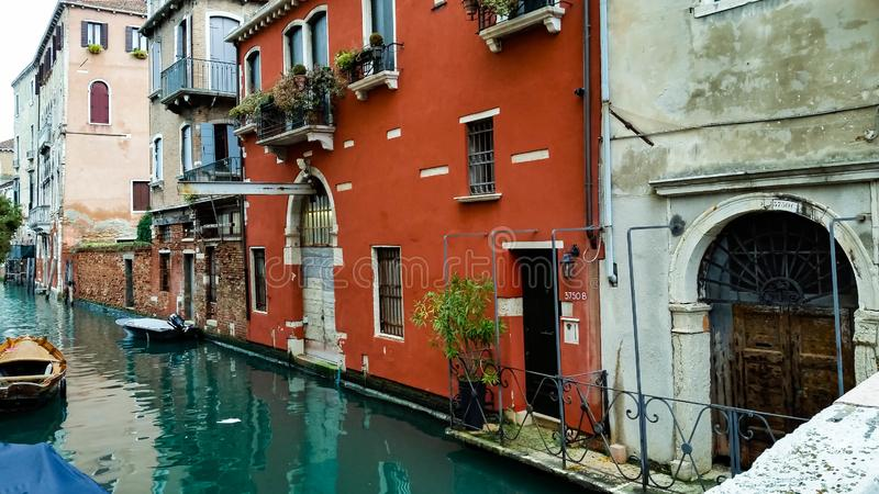 Veneza não central imagem de stock