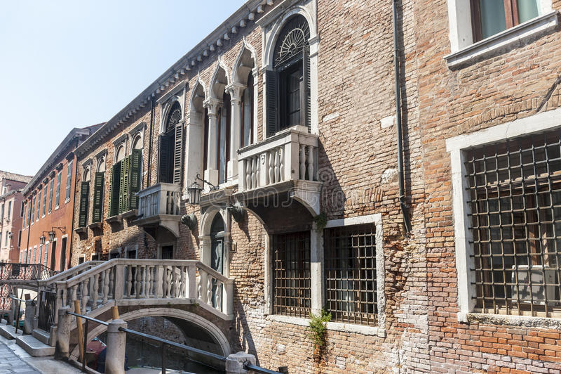 Veneza, o arsenal fotografia de stock