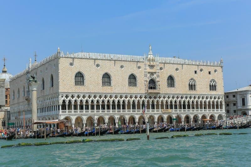 Veneza - o palácio do doge s imagem de stock royalty free