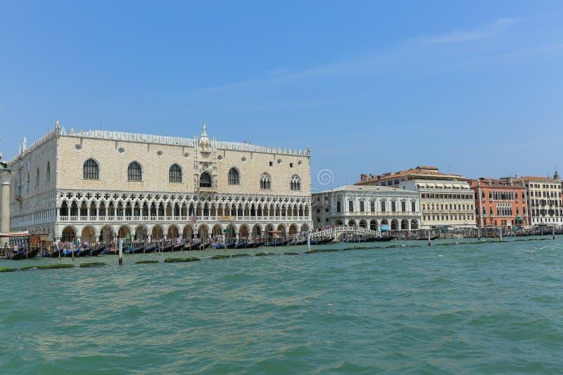 Veneza - o palácio do doge s imagens de stock royalty free