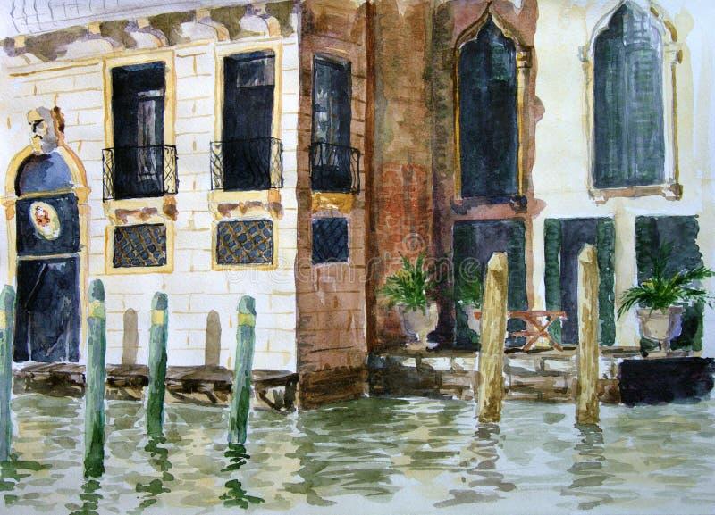 Venezia illustrazione vettoriale