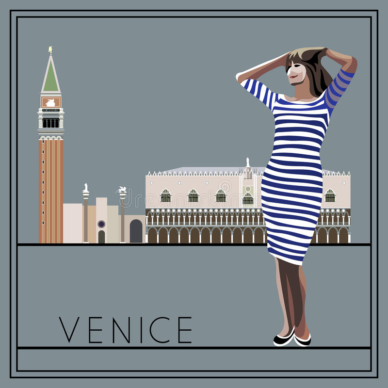 Venezia 2 royalty illustrazione gratis