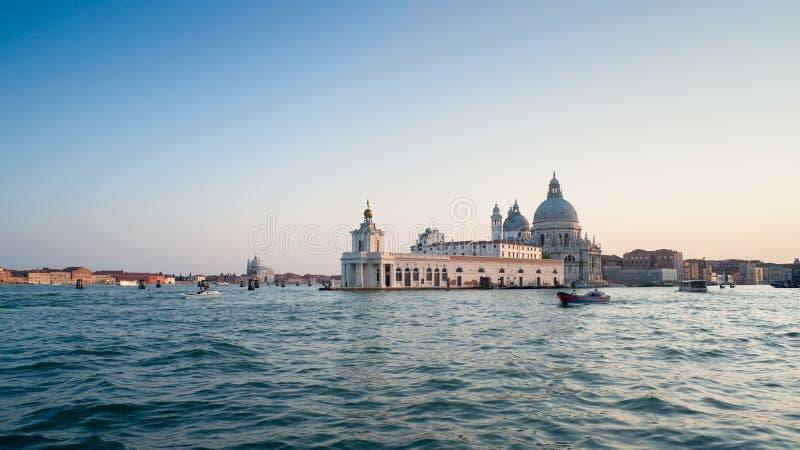 Venezia al tramonto. L'Italia fotografia stock