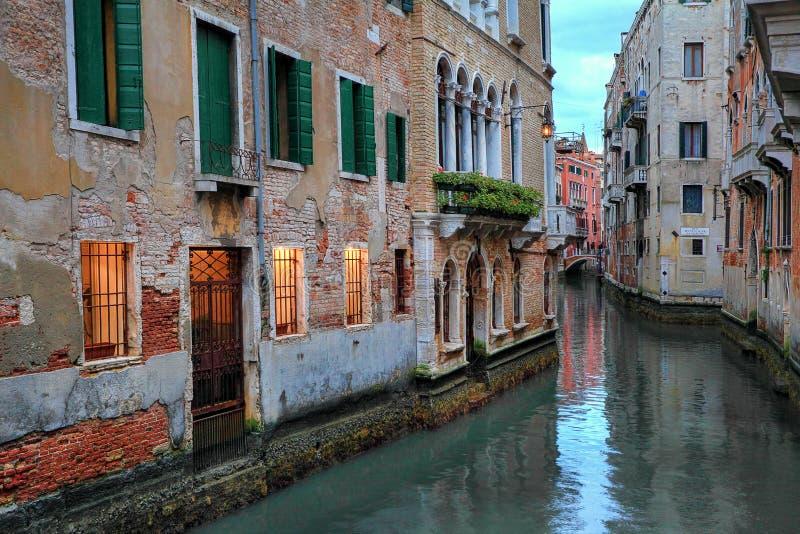 Venezia alla sera. fotografia stock libera da diritti