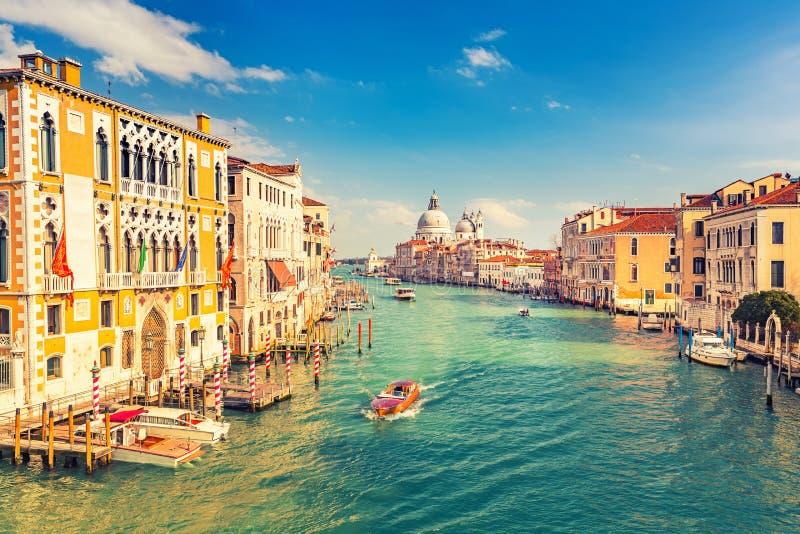 Venezia alla sera soleggiata fotografie stock libere da diritti