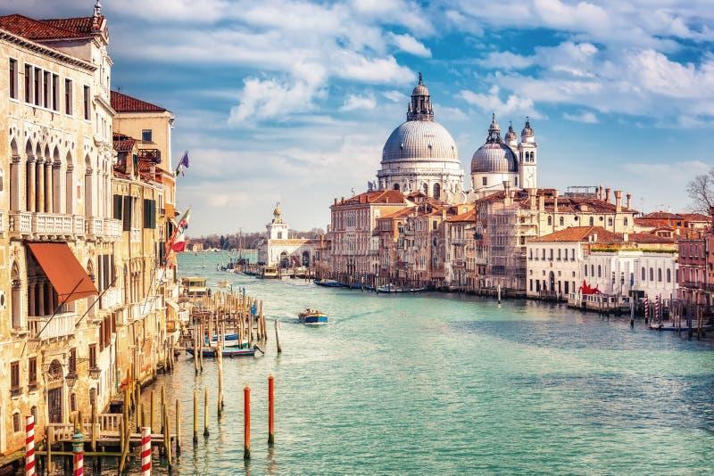Venezia alla sera soleggiata immagini stock