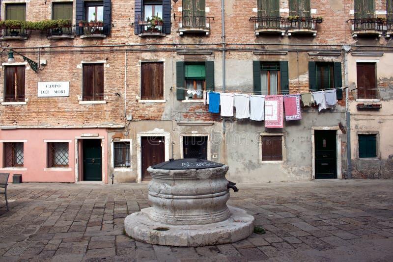 Venezia Campo dei Mori royalty free stock photography