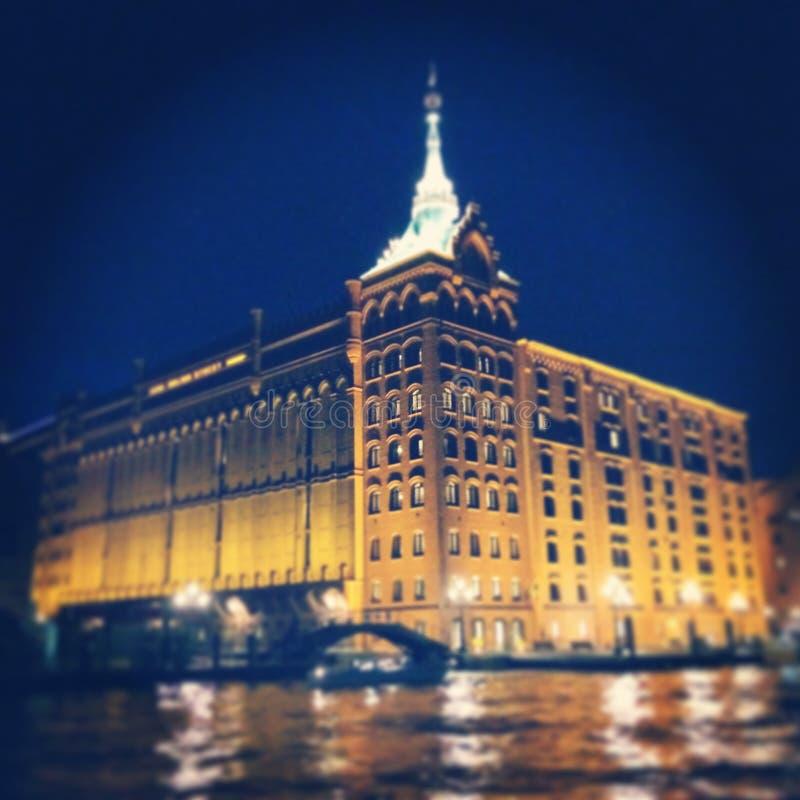 venezia de Hilton Hotel fotografía de archivo