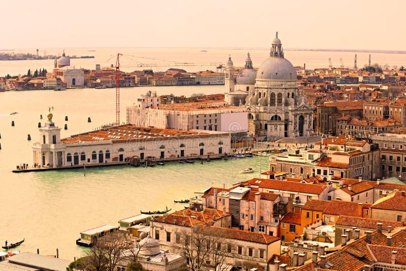 Venezia, dellasalute della Santa Maria. L'Italia fotografia stock libera da diritti
