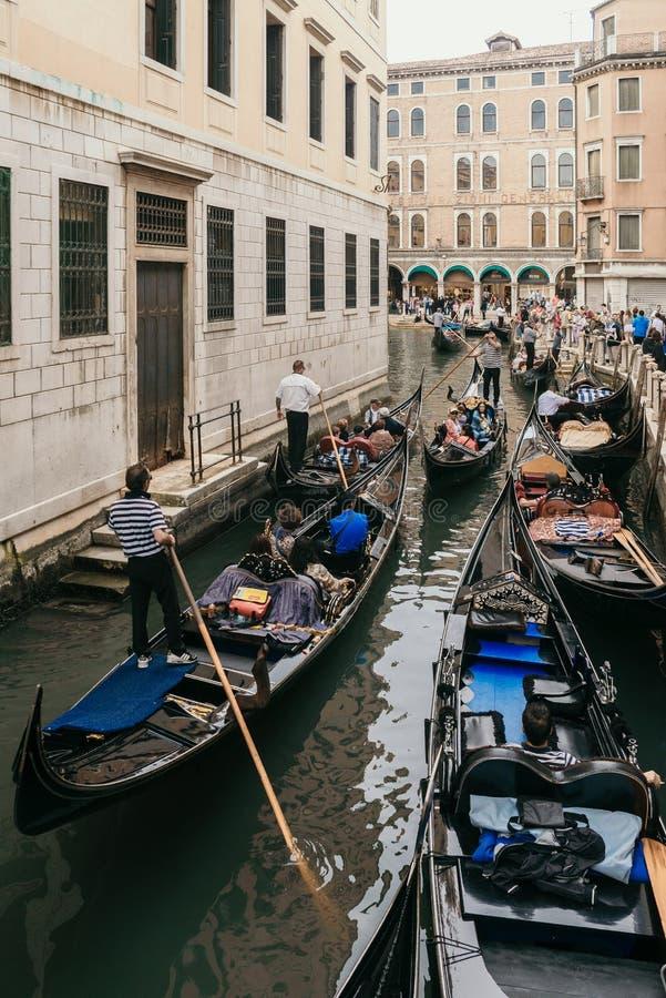Venezia Gandola zdjęcie stock