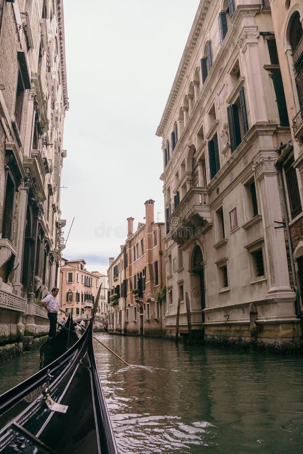Venezia Gandola zdjęcia stock