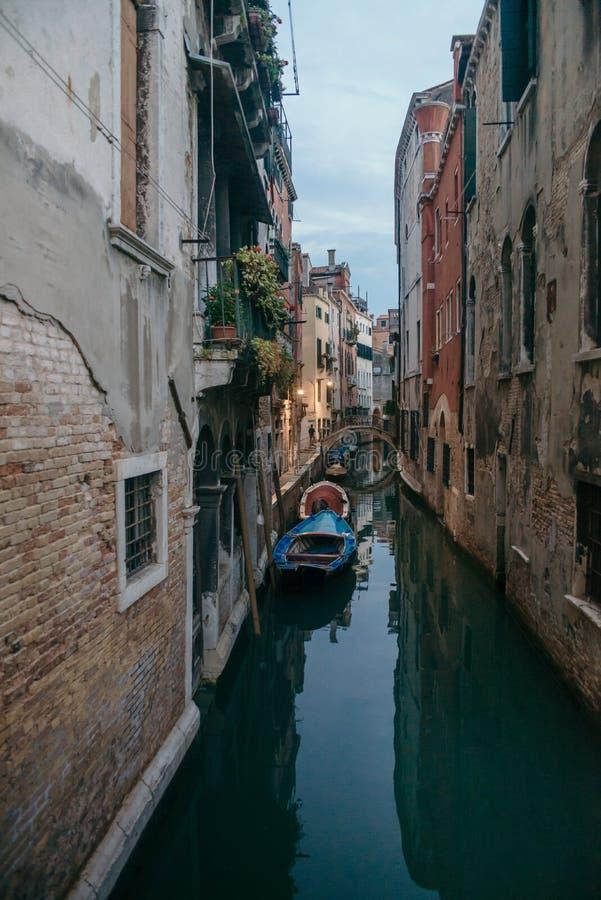 Venezia Gandola zdjęcia royalty free