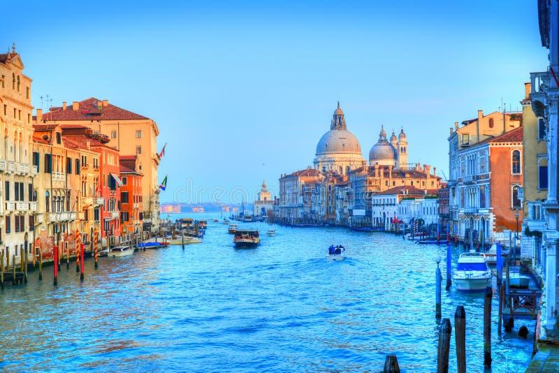 Venezia, Grand Canal, Italia fotografia stock
