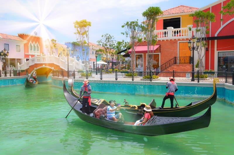 Venezia Hua Hin Thailand-May 11, 2014 foto de stock