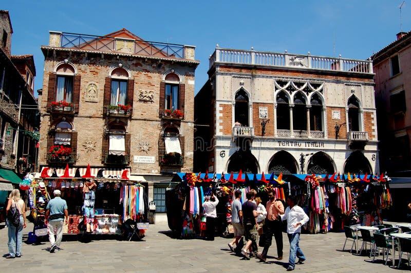 Download Venezia, Italia: Campo De L'Anconeta Fotografia Editoriale - Immagine di quadrato, cabine: 30826346