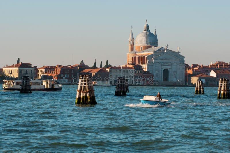 Venezia Italia, viste del Giudecca fotografie stock libere da diritti