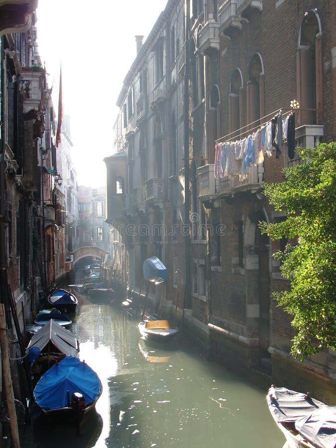 Venezia in Januari stock afbeeldingen