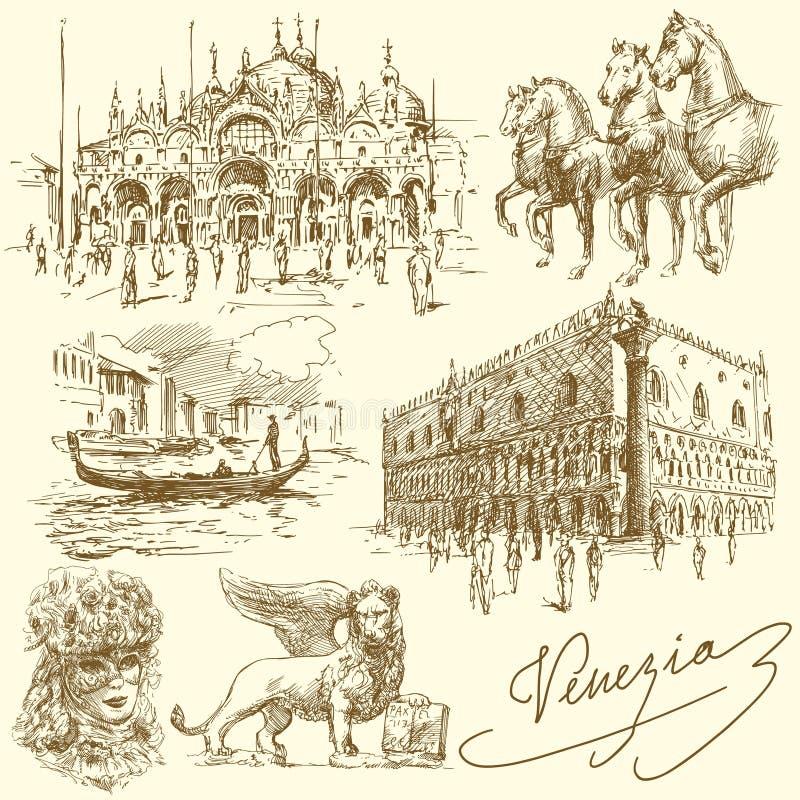 Venezia - l'Italia royalty illustrazione gratis