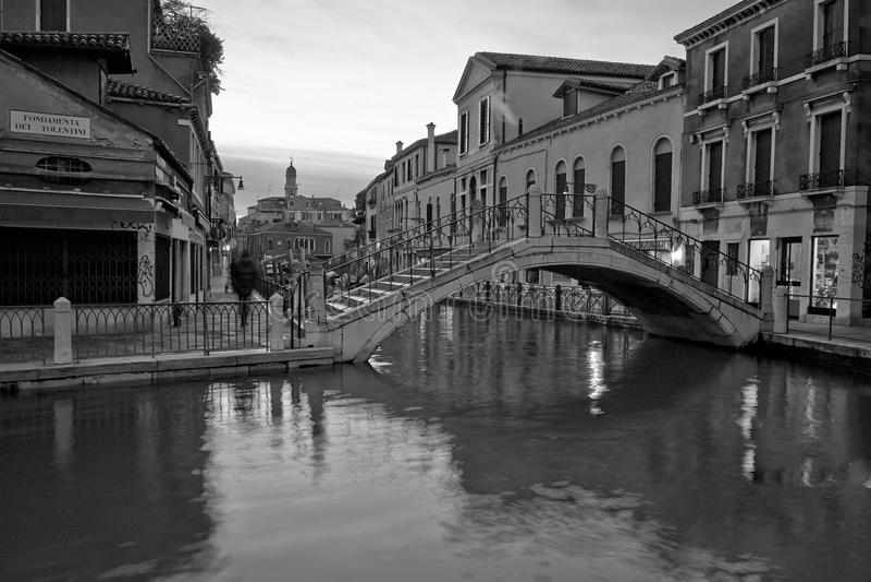 Venezia Long exposure By Night royalty free stock photography