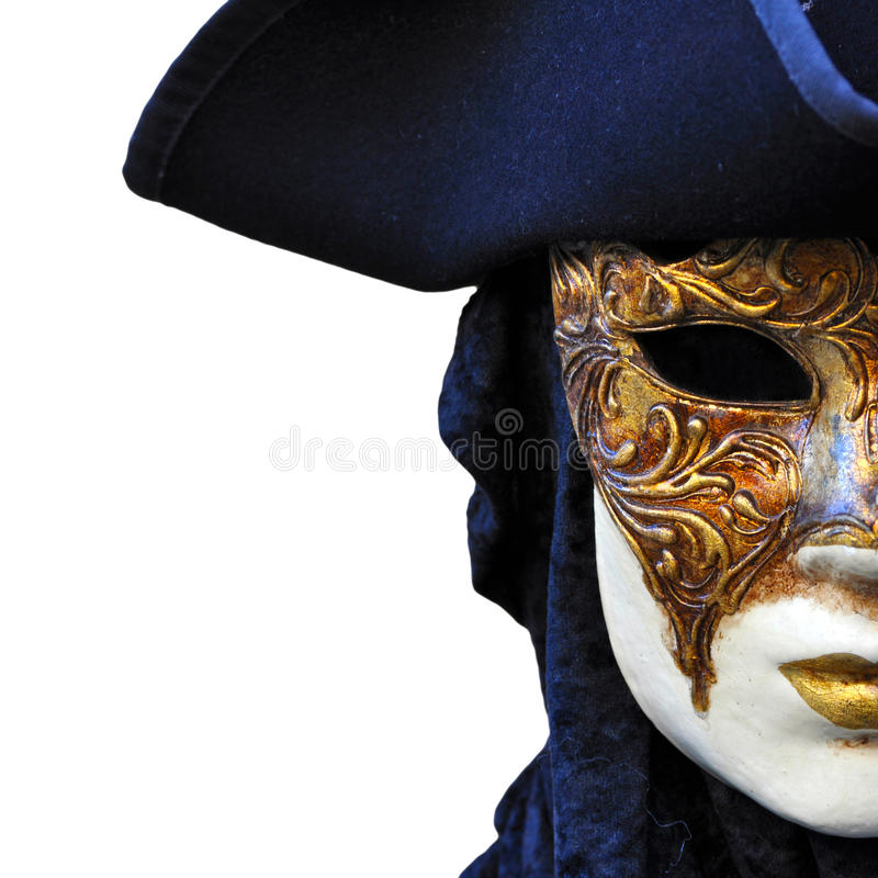 Venezia maskerar royaltyfri fotografi