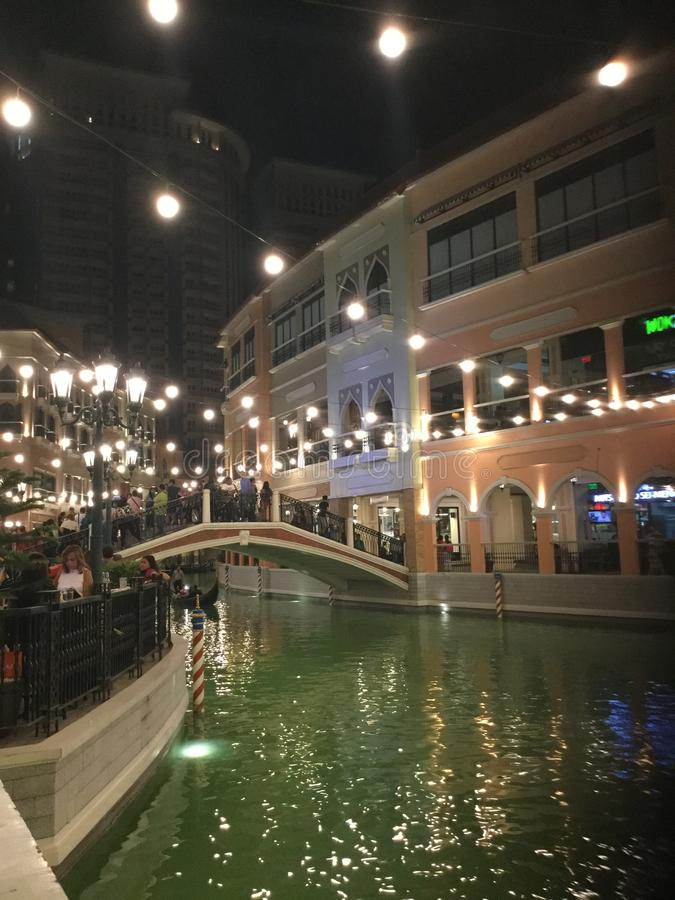 Venezia nel cuore delle Filippine immagine stock libera da diritti