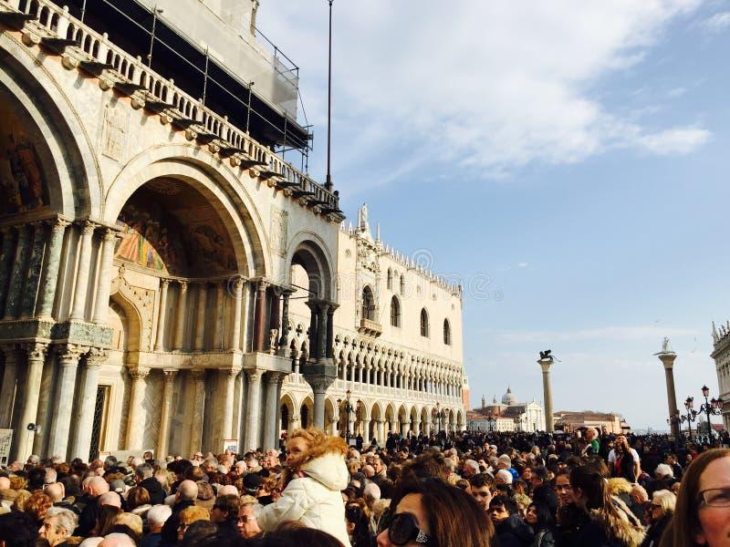 Venezia occupata fotografie stock libere da diritti
