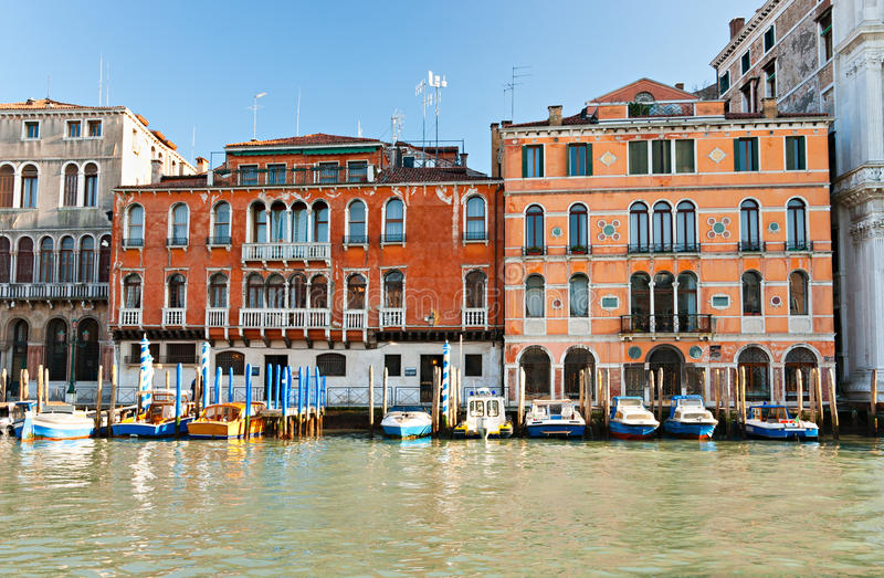 Venezia, palazzo sul grande canale. immagine stock libera da diritti
