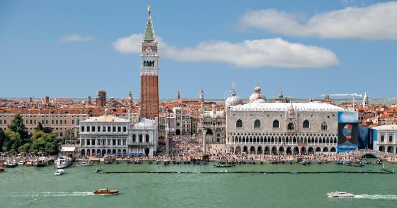Venezia - piazza San Marco & Palazzo Ducale fotografie stock