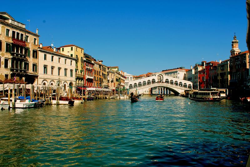 Venezia Ponte Rialto fotografia stock libera da diritti