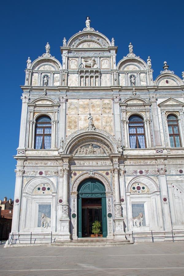 Venezia - Scuola Grande di San Marco immagini stock libere da diritti