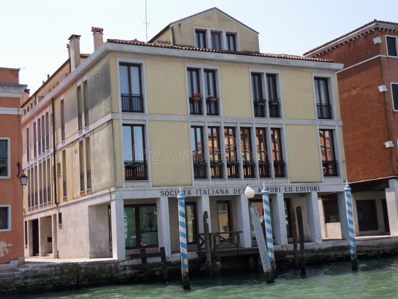 Venezia - Seat del Siae immagini stock