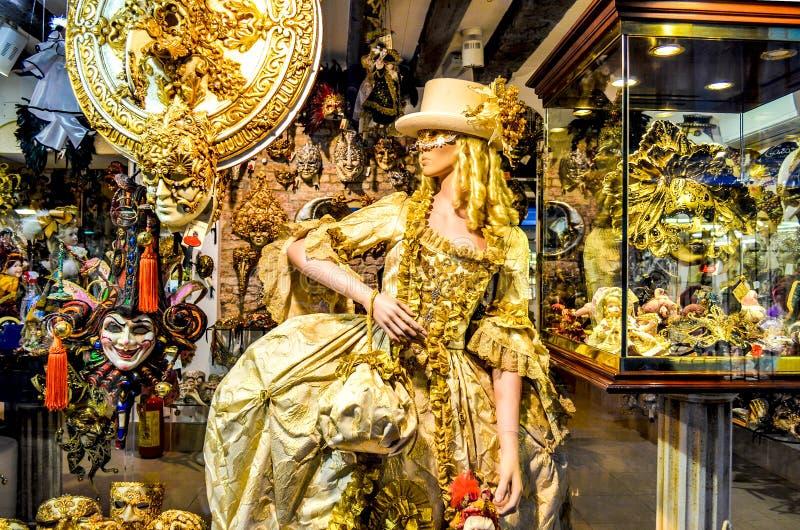 Venezia su carnibal fotografia stock libera da diritti
