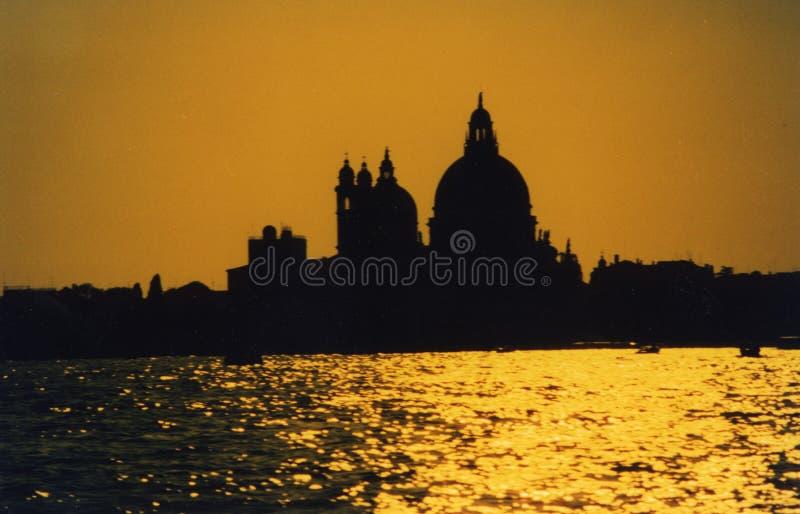 Venezia - Tramonto immagini stock libere da diritti